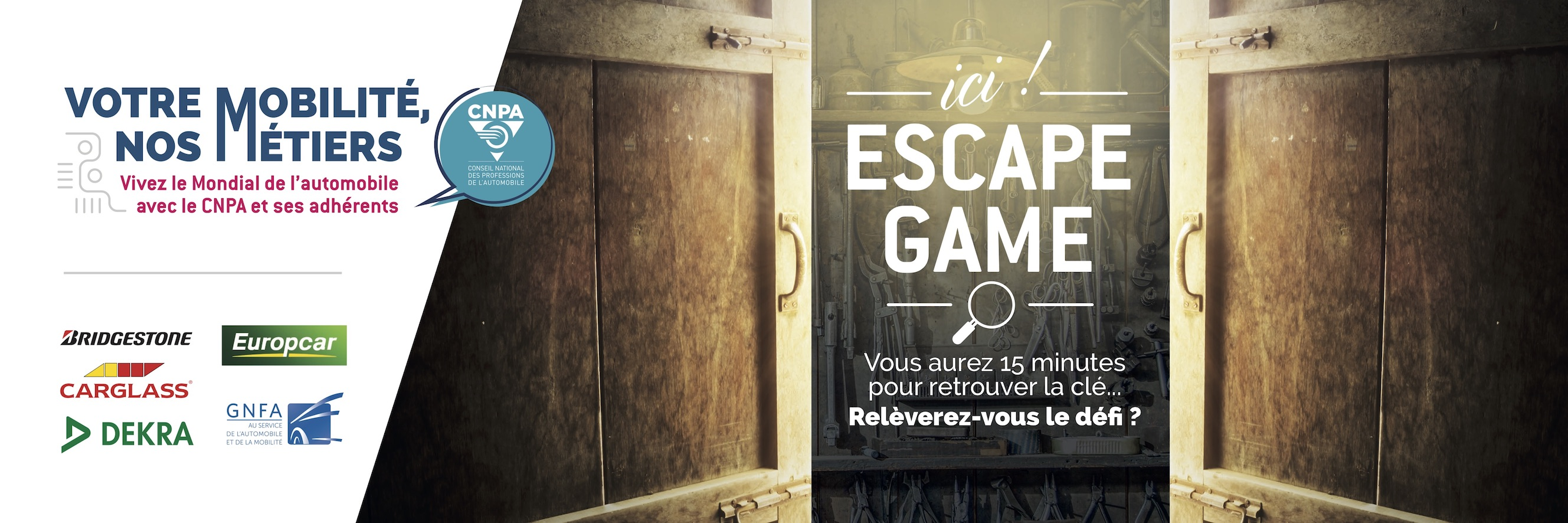 Mondial de l'auto - Escape Game CNPA
