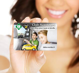Carte club avantages